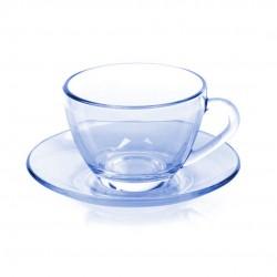 Xícara De Chá Astral Azul Com Pires 150ml