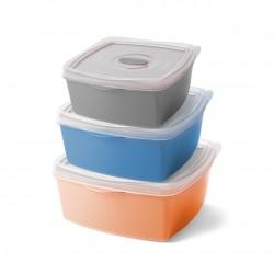 Kit Potes Ware 3 Peças