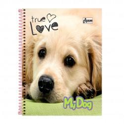 Caderno 10x1 200 Folhas My Dog