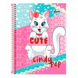 Caderno 20x1 400 Folhas Cindy Pop