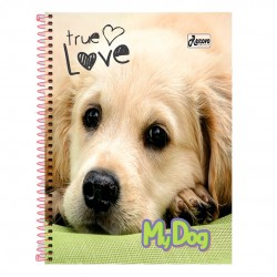 Caderno 15x1 300 Folhas My Dog