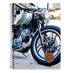 Caderno 15x1 300 Folhas Old Route