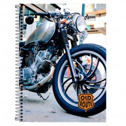 Caderno 20x1 400 Folhas Old Route