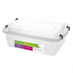 Caixa Organizadora Pratic Box 10 Litros Transparente