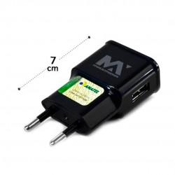 Fonte Para Carregador USB Preto 2.4A