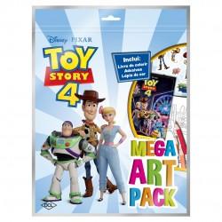 Livro Disney Mega Art Toy Story 4