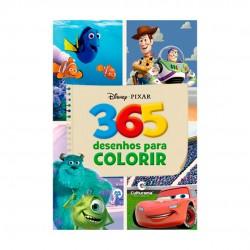 Livro 365 Desenhos Para Colorir Disney Pixar