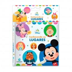 Livro De Pano Disney Baby Conhecendo Os Animais