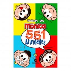 Livro 551 Atividades Turma Da Mônica