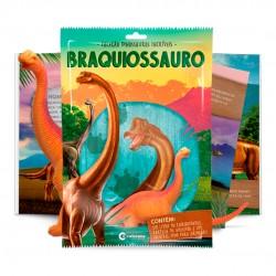 Livro Dinossauros Incríveis Com Branquiossauro