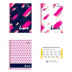 Caderno 15x1 300 Folhas Love