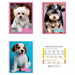 Caderno 20x1 400 Folhas My Dog