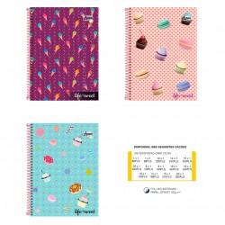 Caderno 20x1 400 Folhas Life Is Sweet