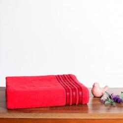 Toalha De Rosto Petra Vermelha