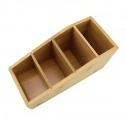 Caixa Organizadora Em Bambu